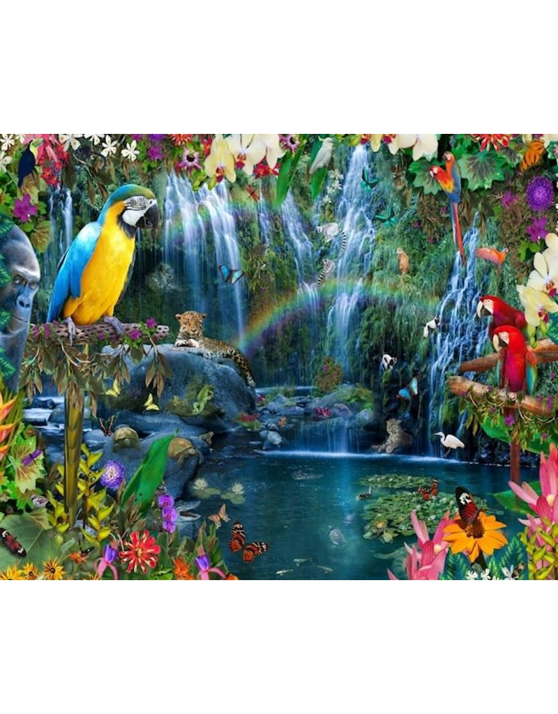 Vermont Christmas Company Jigsaw Puzzle-Tropical Paradise (1000 Pieces)