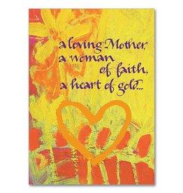 The Printery House A Loving Mother Woman of Faith Birthday Card