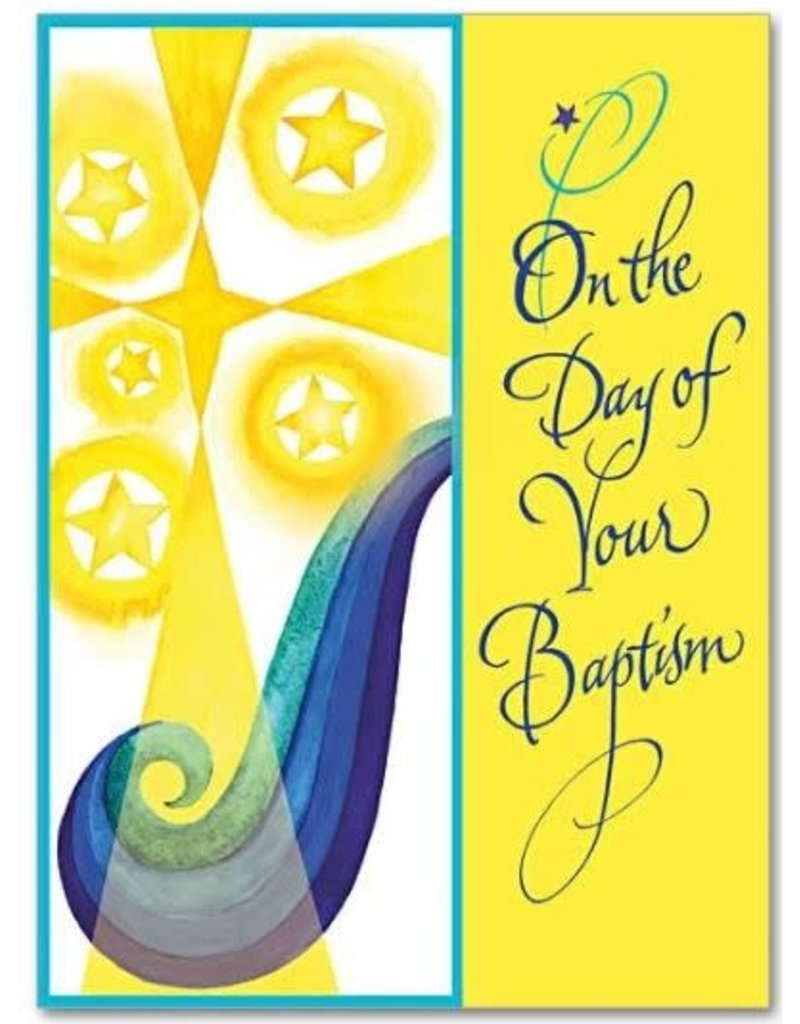The Printery House On the Day of Your Baptism Baptism Card, Child