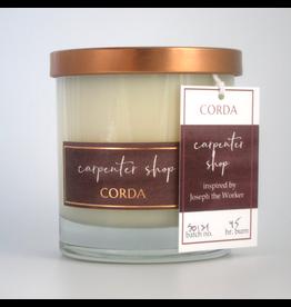 Corda Corda Handcrafted Candle- Carpenter Shop