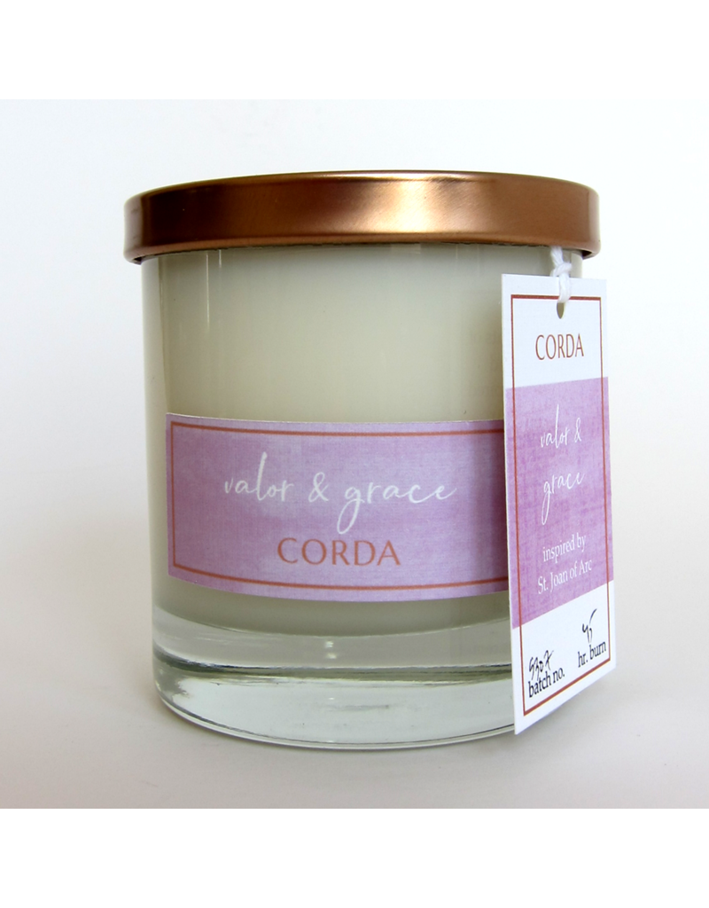 Corda Corda Handcrafted Candle- Valor and Grace