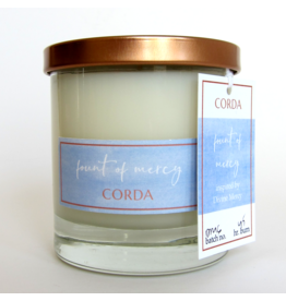 Corda Corda Handcrafted Candle- Fount of Mercy
