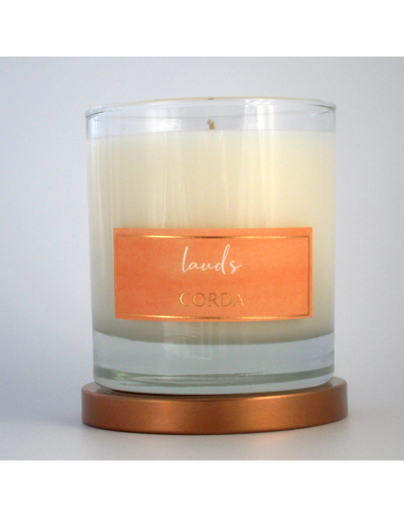Corda Corda Handcrafted Candle- Lauds, Morning Prayer