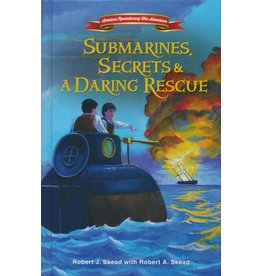 ZonderKidz Submarines, Secrets and a Daring Rescue (American Revolutionary War Adventures)