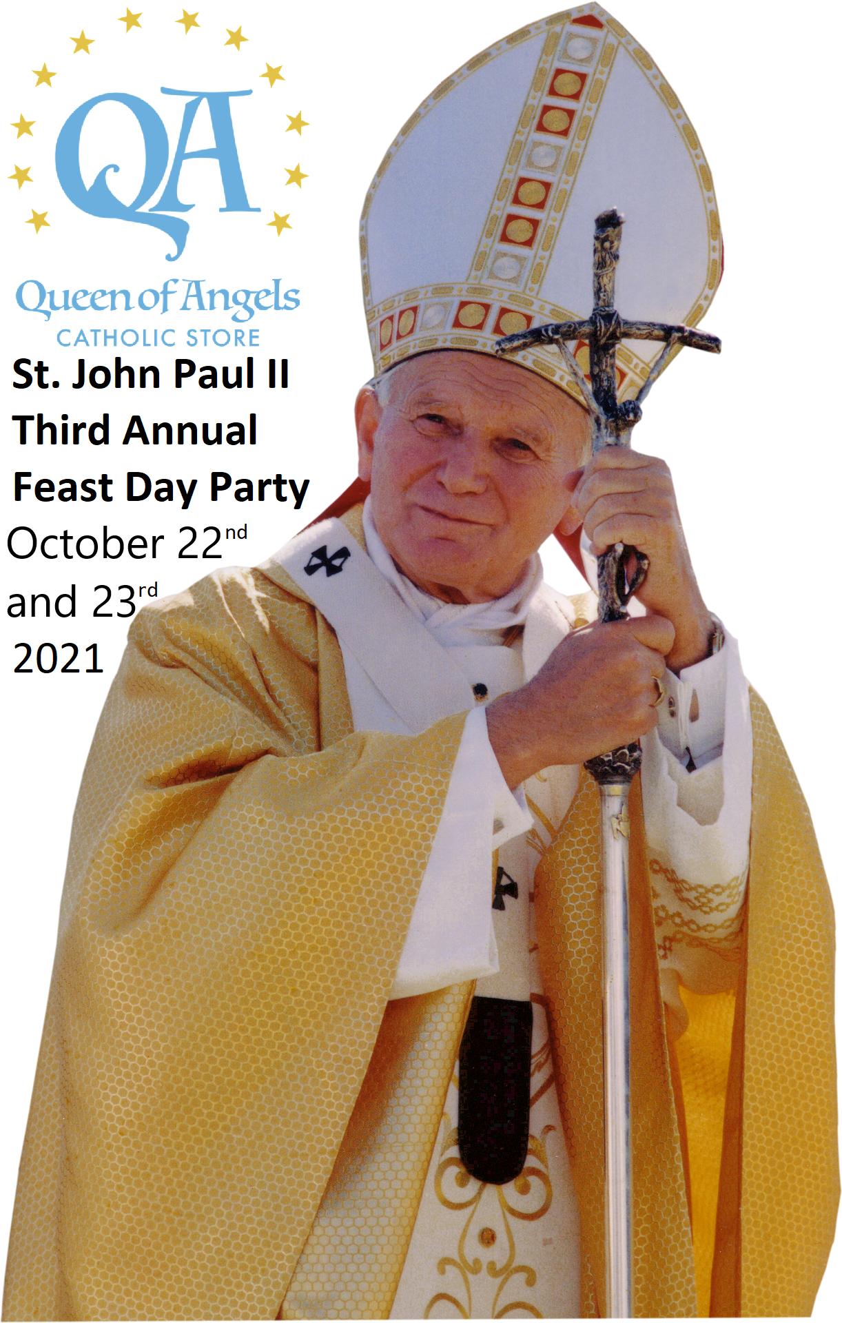 St. John Paul II Third Annual Feast Day Party