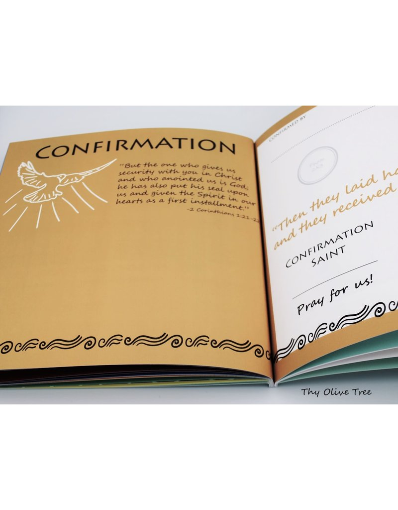 Thy Olive Tree My Catholic Keepsake Memory Book: Monstrance (Softcover)