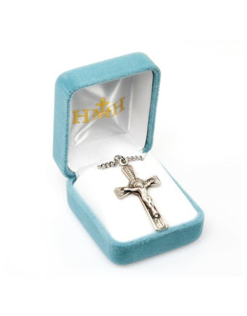 HMH Religious Eucharist Sterling Silver Crucifix