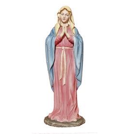 """Goldscheider of Vienna 8"""" Hand-Painted Adoring Virgin"""