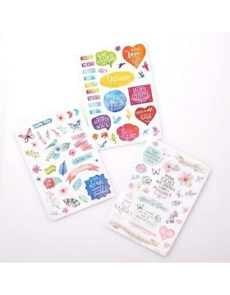 Creative by Design Creative By Design Sticker Sheets (3 Die-Cut Sheets)