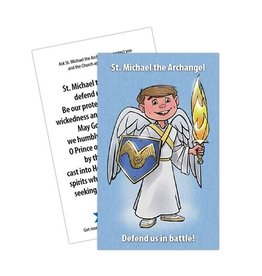 Holy Heroes St. Michael the Archangel Prayer Card