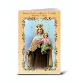 WJ Hirten Spanish O.L. of Mt Carmel Novena Book