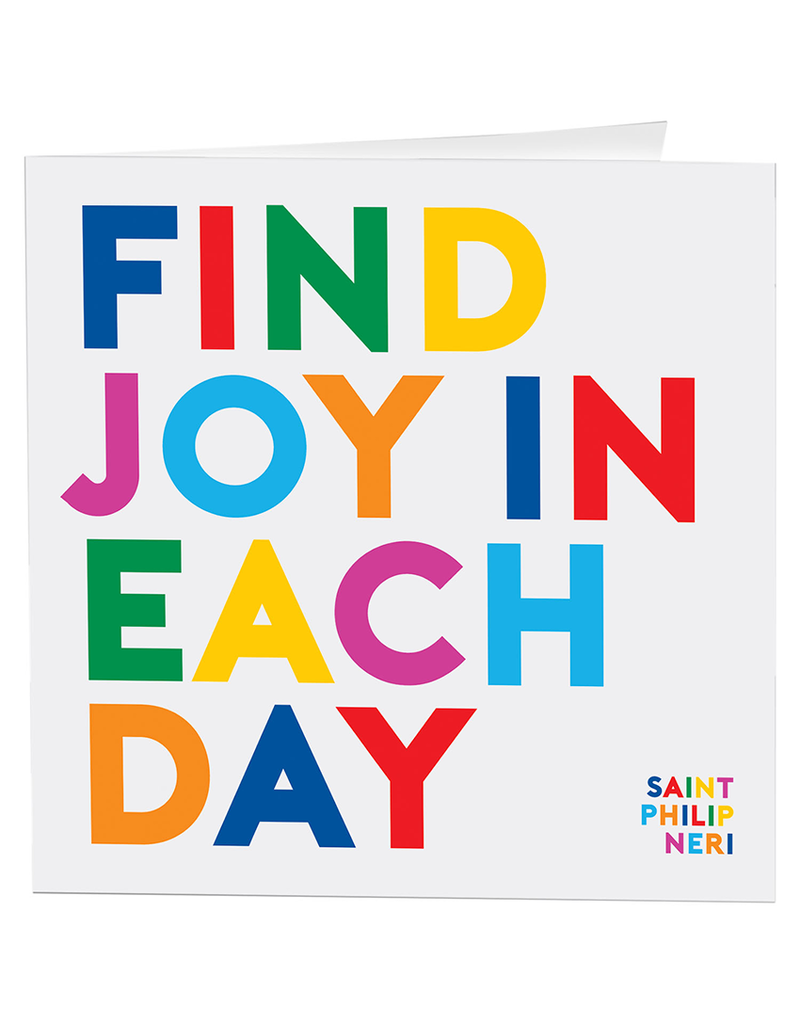 Quotable Cards Find Joy in Each Day Card