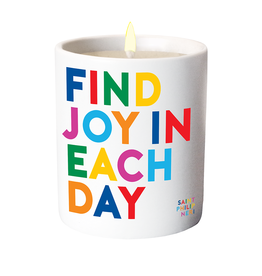 Quotable Cards Find Joy in Each Day Candle