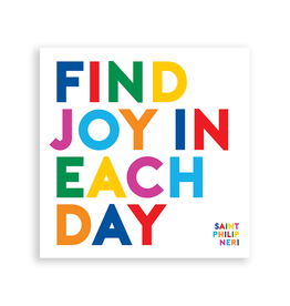 Quotable Cards Find Joy in Each Day Magnet