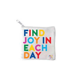 Quotable Find Joy  in Each Day Mini Pouch
