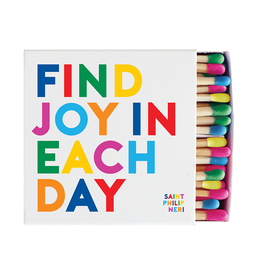Quotable Find Joy In Each Day Matchbox