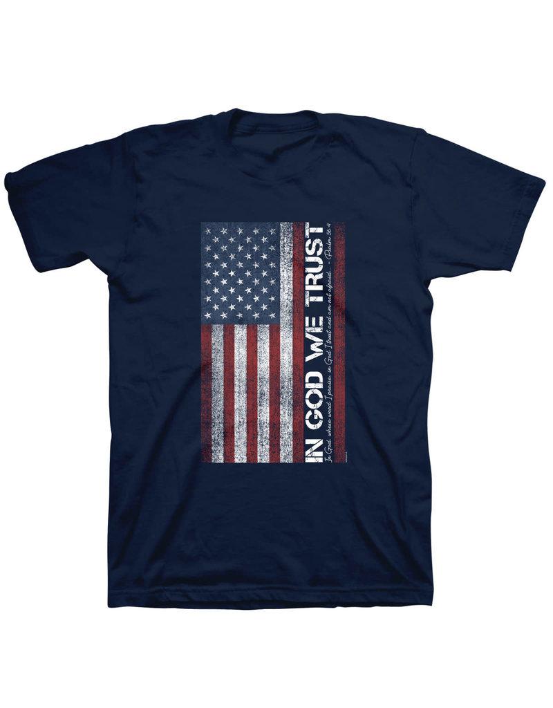 Kerusso In God We Trust Flag T-Shirt