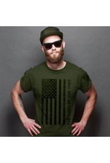 Kerusso Hold Fast  Freedom Flag Men's T-Shirt Small
