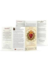 """Full of Grace USA The Surrender Novena Trifold Holy Card - Large Print (8"""" X 4.25"""")"""