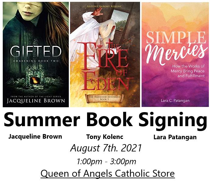 Summer Book Signing
