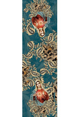 Blessed Americas Immaculate Mary Blue Scarf