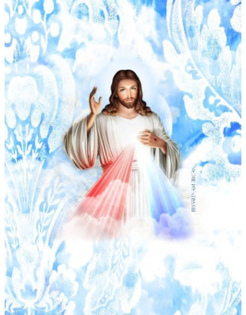 Blessed Americas Divine Mercy Scarf