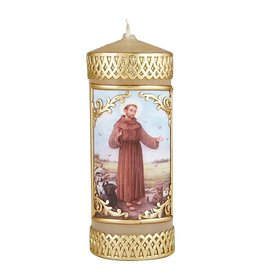 Will & Baumer St. Francis Devotional Candle