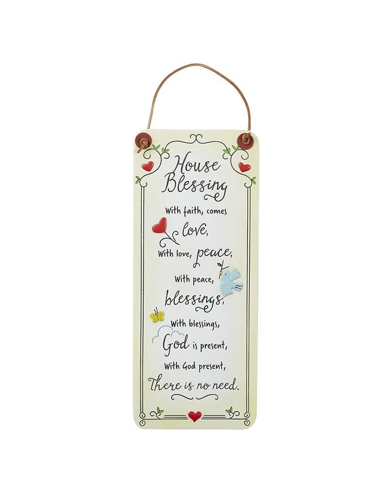 Sacred Traditions House Blessing Plaque