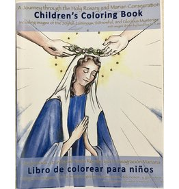 Servants of the Pierced Hearts of Jesus and Mary Coloring Book: A Journey through the Holy Rosary and Marian Consecration