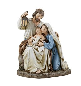 """Avalon Gallery 9.25"""" Blessed Holy Family Figurine"""