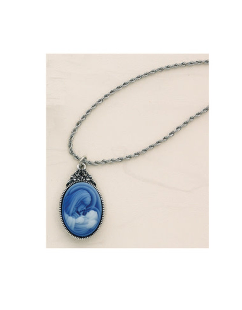 McVan Mother and Child Cameo Pendant Neclace
