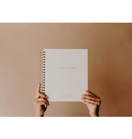 Blessed is She Blessed is She~  His Plan is Better Liturgical Planner (White)