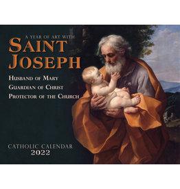 Nelsons Fine Art and Gifts Catholic Liturgical Calendar 2022: Saint Joseph