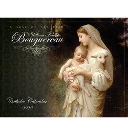 Nelsons Fine Art and Gifts Catholic Liturgical Calendar 2022: William Bouguereau