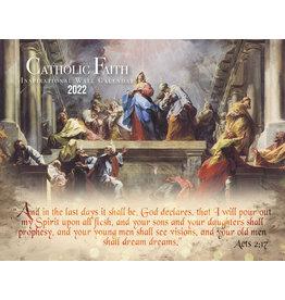 Nelsons Fine Art and Gifts Catholic Liturgical Calendar 2022: Inspirational