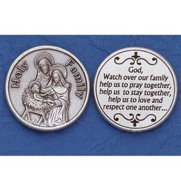 Lumen Mundi Holy Family Pocket Token