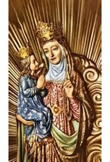 Laminated Holy Card St. Anne de Beaupre(prayer to obtain a special favor)