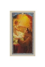 Laminated Holy Card Prayer to St. Anthony to Recover Lost Things