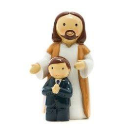 Little Drops of Water Little Drops of Water: First Communion Boy with Jesus