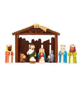 Little Drops of Water Little Drops of Water: Nativity Set Nine Pieces and Stable