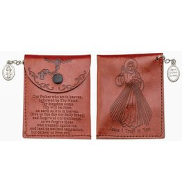 Marian Press Divine Mercy Rosary Pouch