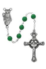 McVan 7mm Green St. Patrick Rosary