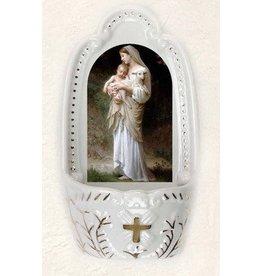 Lumen Mundi Holy Water Font - Divine Innocence