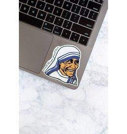 Sock Religious St. Teresa of Calcutta Sticker