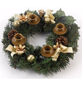 Vermont Christmas Company Traditional Ribbon Advent Wreath