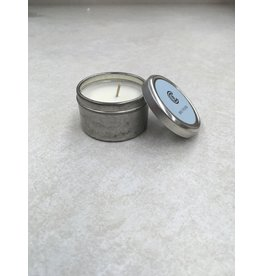 Cathedral Candle Holy Water Candle Tin