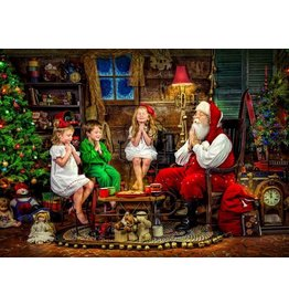 Vermont Christmas Company Jigsaw Puzzle-Christmas Wishes (1000 Pieces)