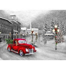 Vermont Christmas Company Jigsaw Puzzle-Holiday Ride (550 Pieces)