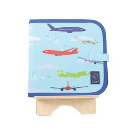 Jaq Jaq Bird Doodle it and Go Erasable Book- Areoplane