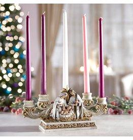 Christian Brands Nativity Advent Candleholder